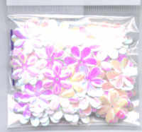 Flower Sequins - Iridescent