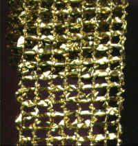 Foil Mesh - Gold