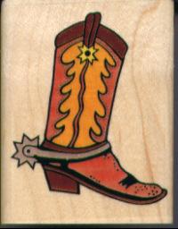 Inkadinkado Cowboy Boot