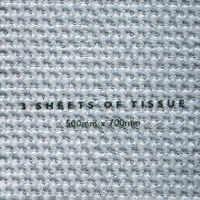 Tissue Paper - Metallic Silver
