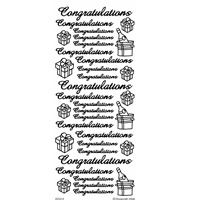Peel Off Stickers Special Offer - Congratulations 1