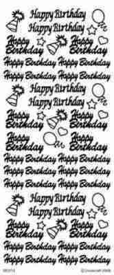 Peel Off Stickers Special Offer - Happy Birthday