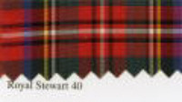 Tartan Ribbon - Royal Stewart - 10mm