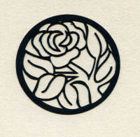 Light Arted Designs - Rose Outline Panel