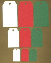 Light Arted Designs - Tags - Christmas