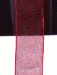 Sheer Ribbon - Claret - 15mm