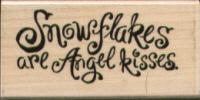 Stampendous - Snowflake Kisses