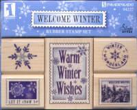 Inkadinkado Welcome Winter Set