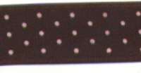 Polka Dot Ribbon - Brown/Pink