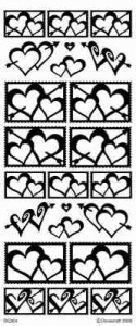 Peel Off Stickers Special Offer - Hearts