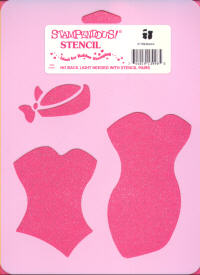 Stampendous Template - Bodice