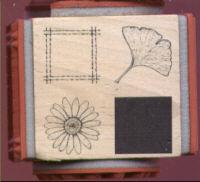 Judikins Rubber Stamp Carole's Cube