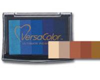 VersaColor 5 Colour Pigment Pad - Mocha Truffle
