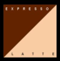 Kanban Panache Double Vision Card - Expresso/Latte