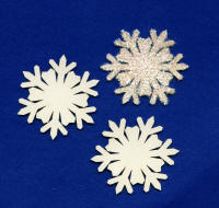 Light Arted Designs - Chipboard - Snowflakes 2007