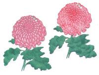 Light Arted Designs Laser Triple Cut - Chrysanthemum