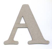 Light Arted Designs - Basic Chipboard Uppercase Letter