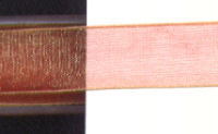 Sheer Ribbon - Copper Gold - 15mm