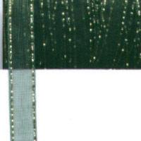 Twinkle Edge Organza - Emerald - 7mm