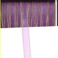 Twinkle Edge Organza - Lilac - 7mm