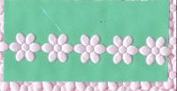 Satin Daisies - Pink