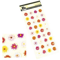 Papermania Dome Stickers - Flowers 1