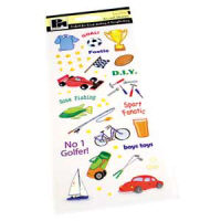 Papermania Stickers - Boys Toys