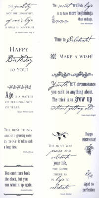 Simple Thoughts Stickers - Happy Birthday