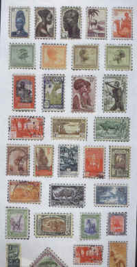 Stickers - African Stamps
