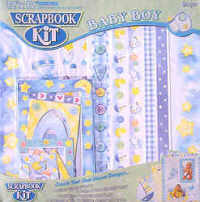 Scrapbook Kit - Baby Boy