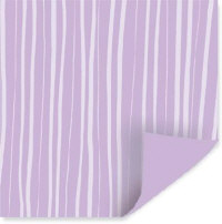 Pixie Press Paper - Lavender Stripes Double Sided