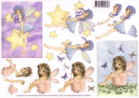 Fairy Decoupage 2