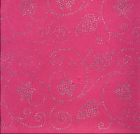 Luxury Glitter Paper - Bright Pink