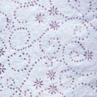 Luxury Glitter Paper - Silver/Pink Swirls