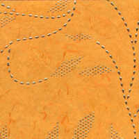 Luxury Paper - Orange/Gold