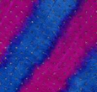 Luxury Silk Glitter Paper - Tie Dye Turquoise/Fucshia