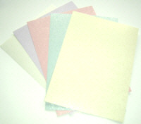 Pearlescent Glitter Card - Assorted Pack Pastels