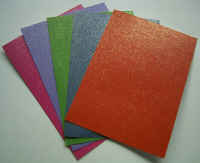 Pearlescent Glitter Card - Assorted Pack Brights