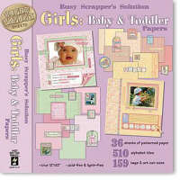 HOTP Busy Scrappers Solution - Girls: Baby & Toddler