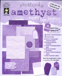 Hot Off The Press Sarabooks Amethyst Papers
