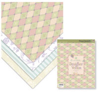 K & Company Beyond Postmarks Brenda Walton Designer Vellum Pad