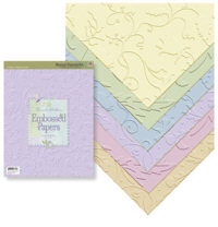 K & Company Beyond Postmarks Brenda's Embossed Pad