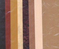 Inspirations Accent Papers - Brown