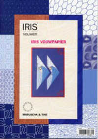 Iris Folding Papers - Dark Blue