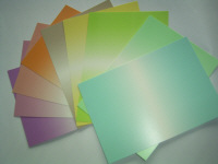 A5 Shadow Card Pack - Assorted colours