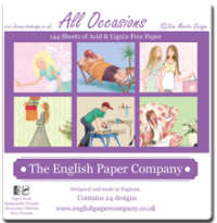 The English Paper Company - 6x6 Bumper Pads
