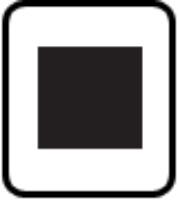 Medium Button Punch - Square