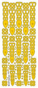 Peel Off Stickers - Welsh Love Spoons