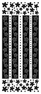 Peel Off Stickers - Flower Border