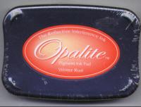 Opalite Ink pad -Winter Rust